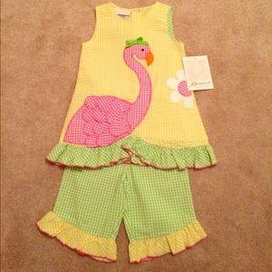 Bonnie Baby - Bonnie Jean 2-piece outfit 24M NWT